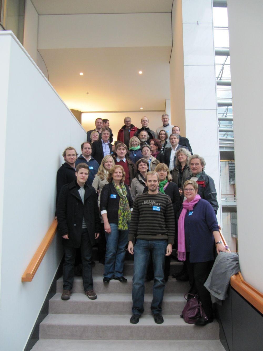Besuch aus Verden und Düsseldorf im EP