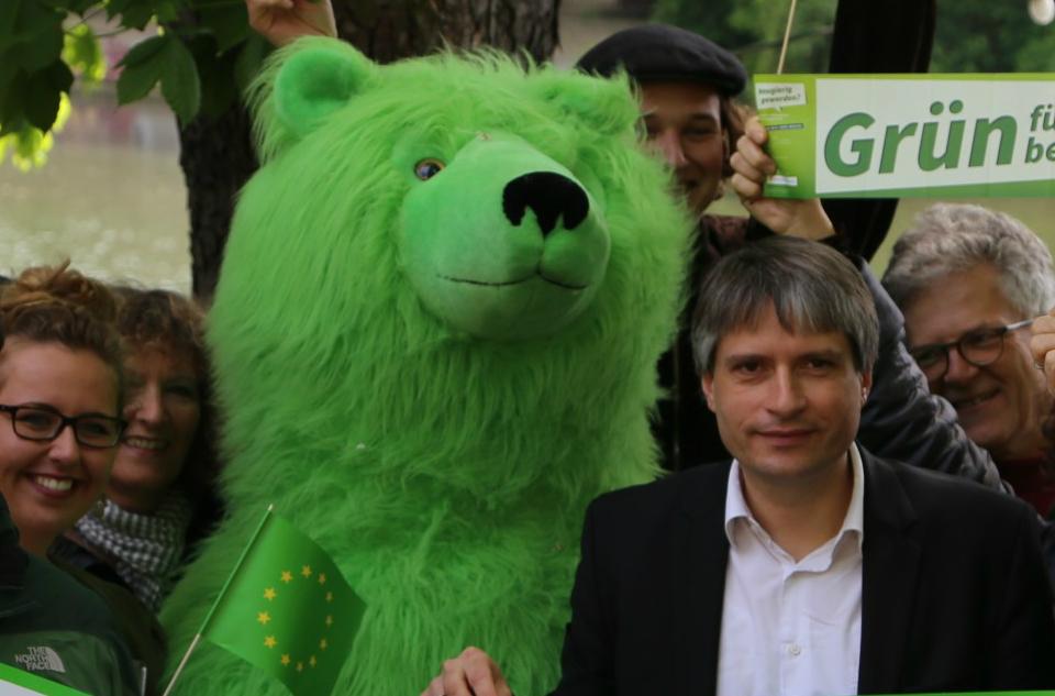 Tübinger Grüne, Bärnadette und Sven Giegold