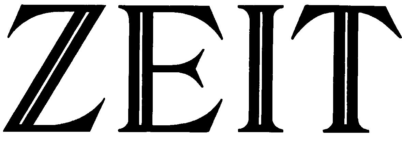 Logo der Wochenzeitung DIE ZEIT