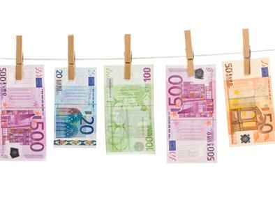 Geldwäsche Englisch