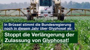 Glyphosat Petition Sharepic